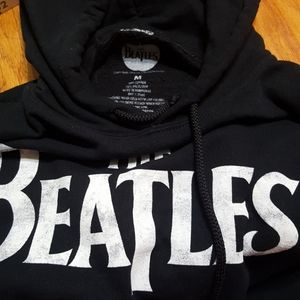 Apple Corp The Beatles Black Hooded Sweatshirt M